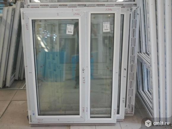 Окна ПВХ неликвиды. Фото 1.