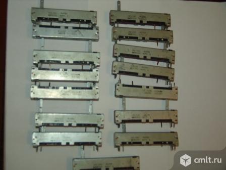 Переменные резисторы из СССР