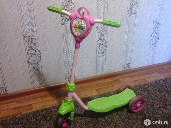 Самокат 3-х колесный детский
