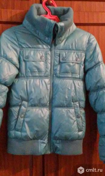 Куртка на сентипоне. Фото 1.