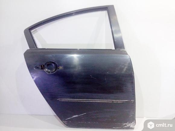 Дверь задняя правая MAZDA 3 седан 04-08 б/у BNYV7202XD 3*. Фото 1.