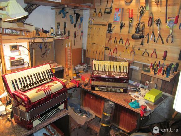 Ремонт аккордеонов, баянов, гармоней. Фото 1.