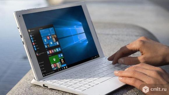 Гибридный планшет Alcatel с Windows 10 и 4G