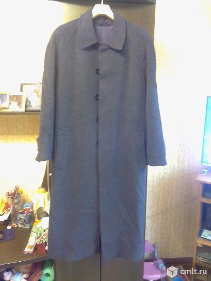 Пальто мужское демисезонное длинное новое. Фото 1.