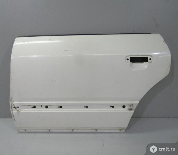 Дверь задняя левая  AUDI 100 с4 91-94 б/у 4A0833051A 4*. Фото 1.