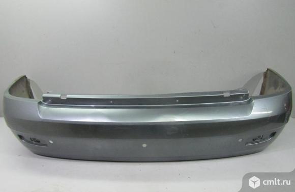 Бампер задний под парктр. LADA PRIORA седан 08-12 б/у 21702804015 4.5*. Фото 1.