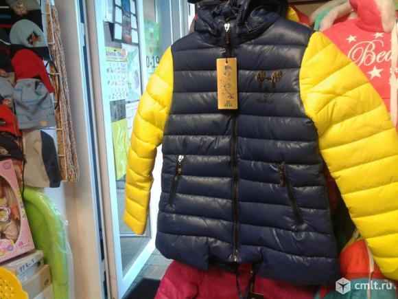 Куртки осенние новые для девочек р.116-122
