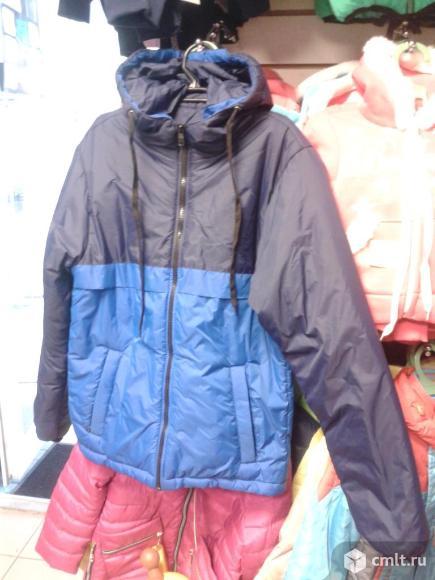 Куртки новые осенние р.134-140. Фото 1.