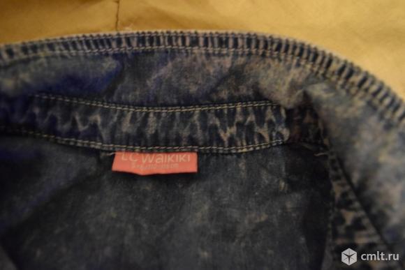 Жилетка джинсовая.. Фото 3.