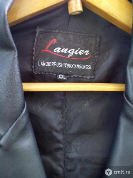 Кожаный пиджак. Фото 3.