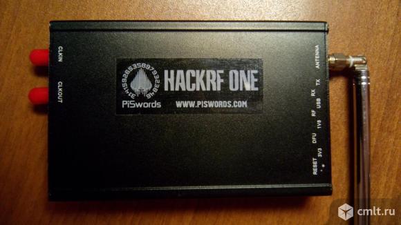 Hackrf one SDR radio+антенна. Фото 1.
