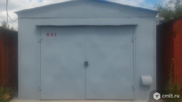 Металлический гараж Север