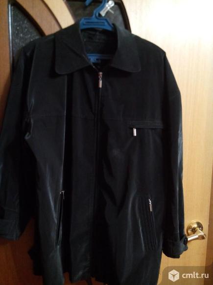 Куртка чёрная фирмы Hugo Boss.. Фото 1.