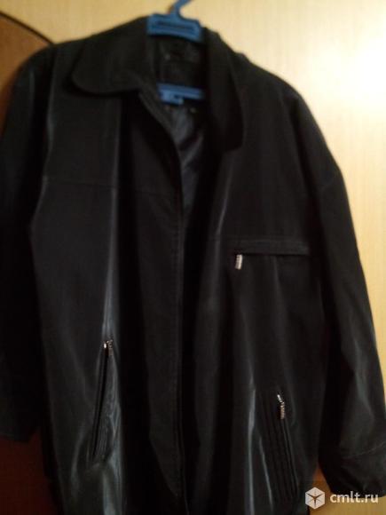 Куртка чёрная фирмы Hugo Boss.. Фото 4.