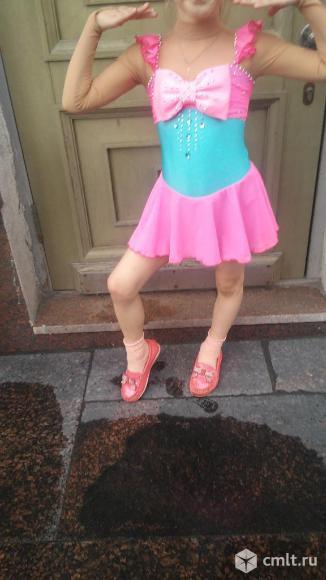 Платье для выступления юной фигуристке