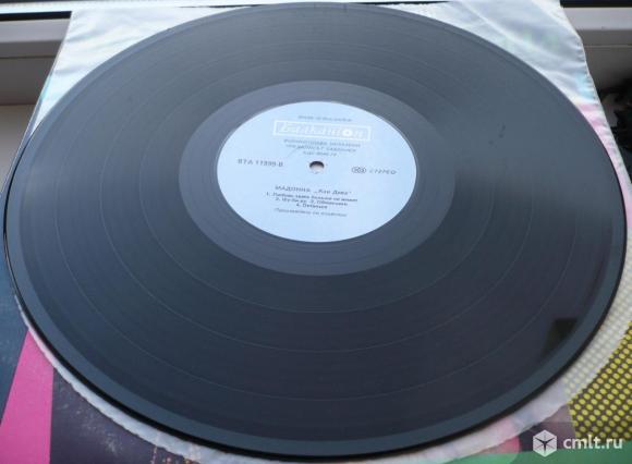 """Грампластинка (винил). Гигант [12"""" LP]. Madonna. Like A Virgin. 1984. Balkanton, 1989. Болгария.. Фото 8."""
