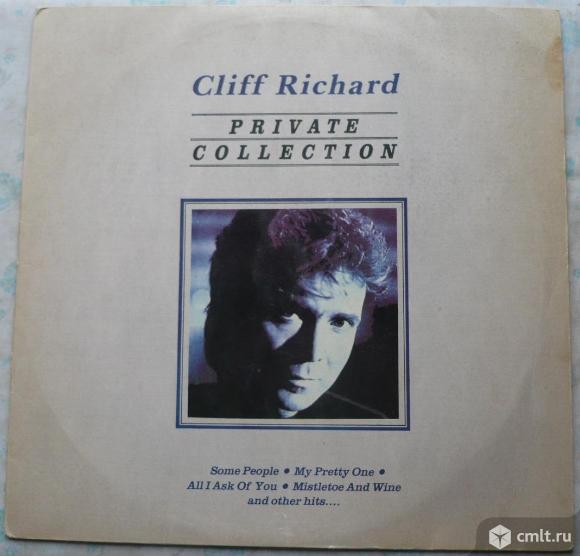 "Грампластинка (винил). Гигант [12"" LP]. Cliff Richard. Private Collection. 1988. (P) 1990 HMV. Индия. Фото 1."