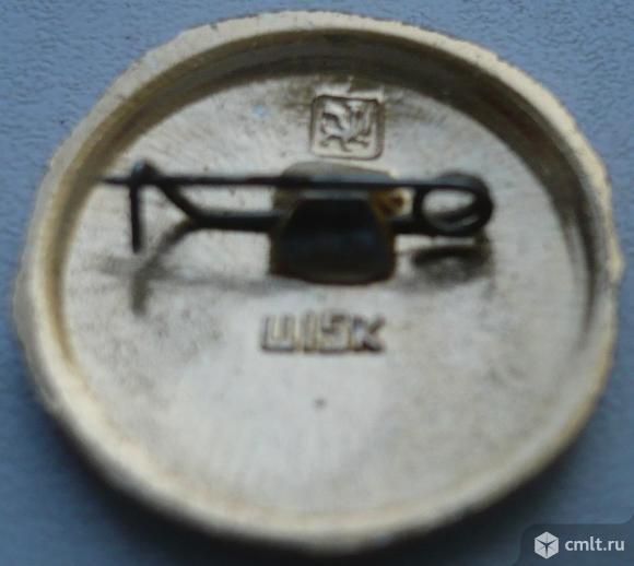 """Значок """"Золотое кольцо - Галич"""", герб, СССР, металл, эмаль.. Фото 2."""
