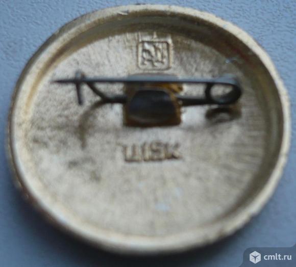 """Значок """"Золотое кольцо - Муром"""", герб, СССР, металл, эмаль.. Фото 2."""