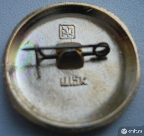 """Значок """"Золотое кольцо - Суздаль"""", герб, СССР, металл, эмаль.. Фото 2."""