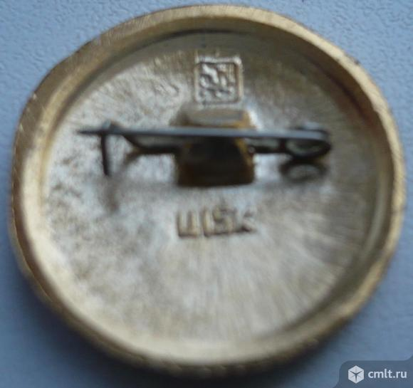 """Значок """"Золотое кольцо - Шуя"""", герб, СССР, металл, эмаль.. Фото 2."""