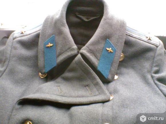 Шинель парадная офицерская ВВС СССР. Фото 1.