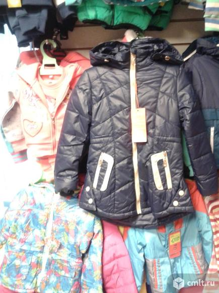 Куртка осенняя новая р.110-116