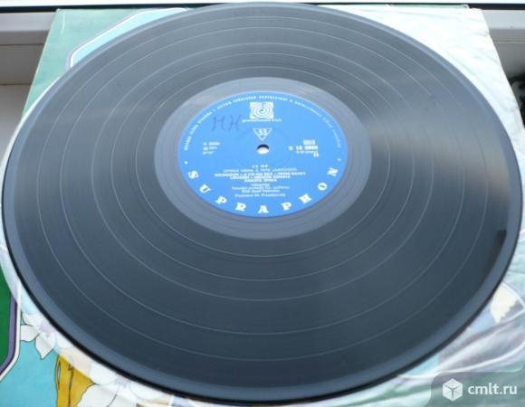 "Грампластинка (винил). Гигант [12"" LP]. Hana & Petr Ulrychovy. 13 HP. 1971 Supraphon. Чехословакия.. Фото 8."