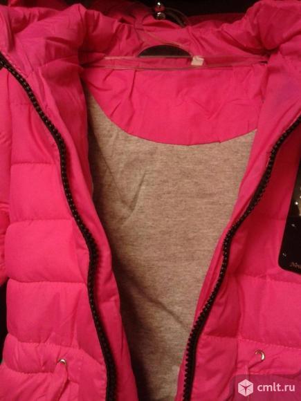 Куртка осенняя новая р.104-110. Фото 2.