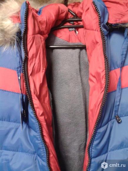 Куртка зимняя новая р.104-110. Фото 2.