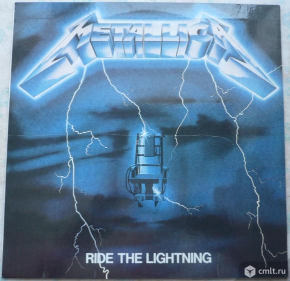 """Грампластинка (винил). Гигант [12"""" LP]. Metallica. Ride The Lightning. 1984. PolyGram, 1994. Россия.. Фото 1."""