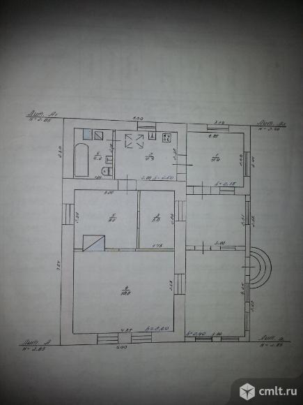 Дом 97 кв.м на участке 56 соток