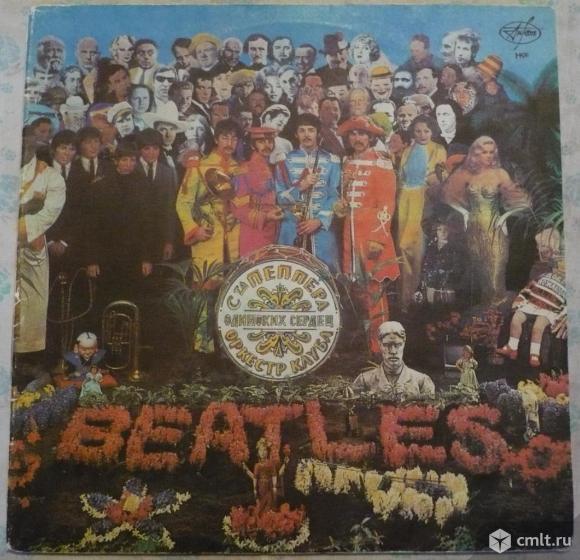 "Грампластинка (винил). Гигант [12"" LP]. The Beatles. Sgt. Pepper's Lonely Hearts Club Band. 1967.. Фото 1."