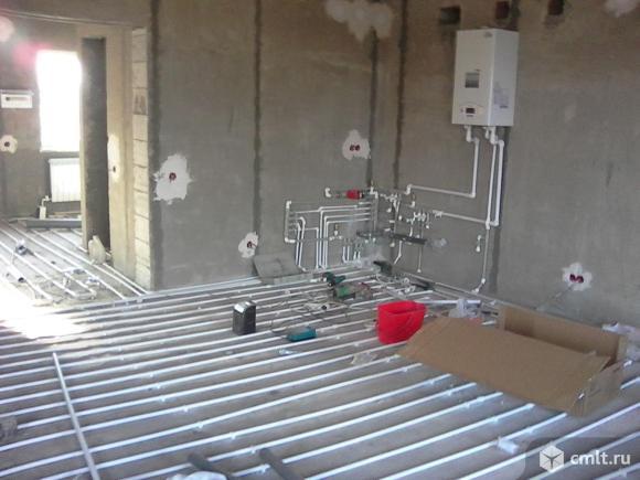 Водопровод, канализацию, отопление смонтируем. Фото 1.