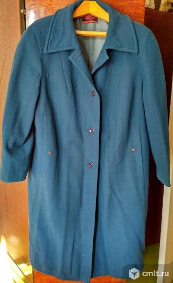 Синее пальто. Фото 1.