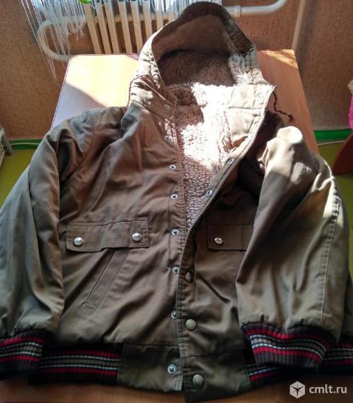 Зимняя куртка для мальчиков. Фото 1.