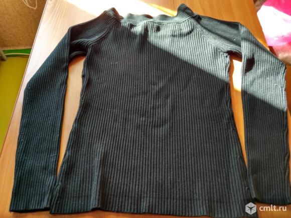 Черная женская кофта. Фото 2.