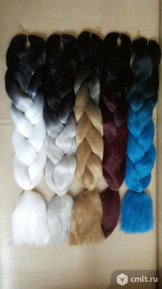 Продам цветные косы