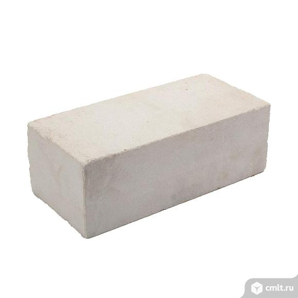 Кирпич рядовой силикатный Ливенский, белый, 1,4НФ, М150, (320шт, упаковка)