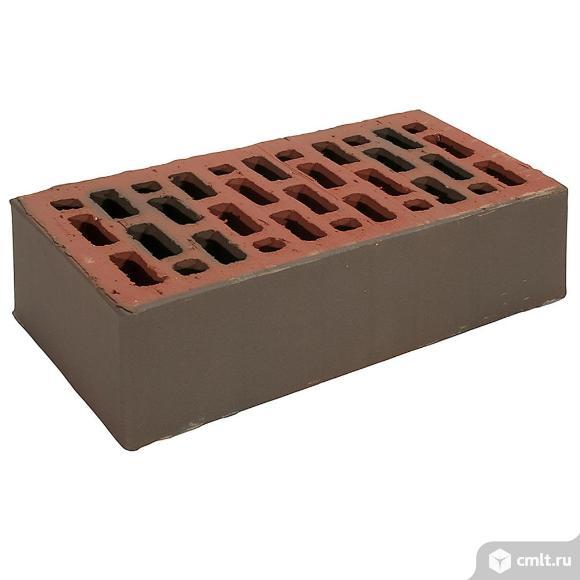 Кирпич лицевой керамический Браер, баварская кладка, гладкий, 1,0НФ, М150, (480шт, упаковка)