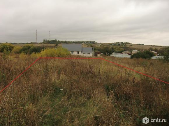 Продам землю под строительство дома 25 сот в Русской Гвоздёвке ИЖС. Фото 1.