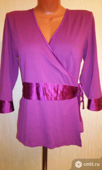 Новая блузка сливового цвета  (versal). Фото 1.
