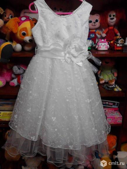 Платье праздничное 3-6 лет