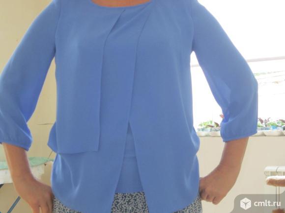Блузка из коллекции немецкой одежды. Фото 1.