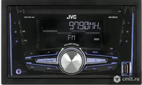 Новая, гарантия год 2 DIN  Автопроигрыватель JVC KW-R520
