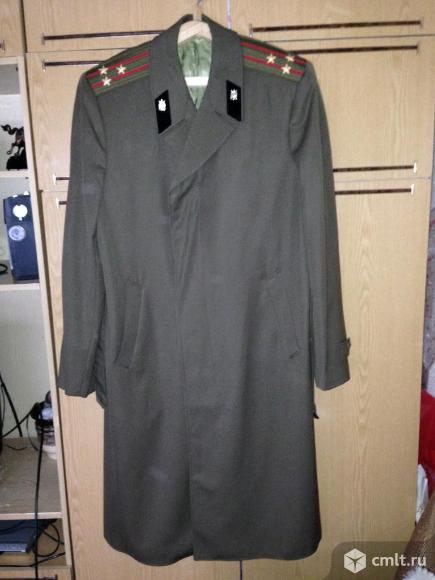 плащ-пальто военный. Фото 1.