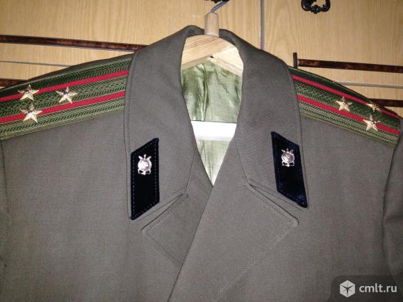 плащ-пальто военный. Фото 3.