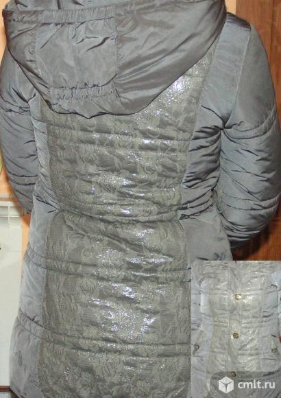 Куртка (пуховик) р. 146