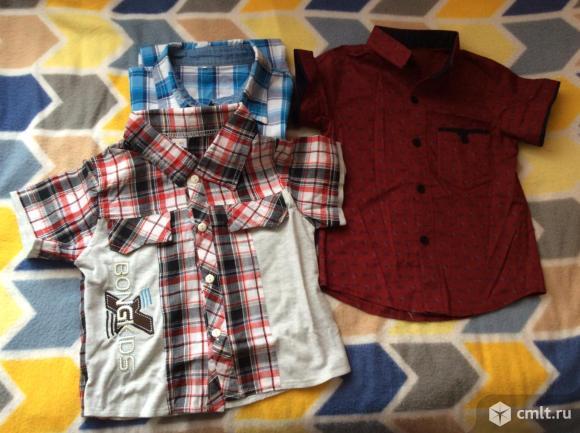 Рубашки с коротким рукавом. Фото 1.