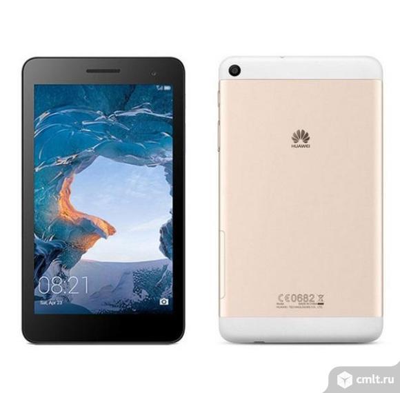 """Как новый, гарантия 7"""" Планшет Huawei MediaPad T2 7 16 Гб 3G, LTE золотистый"""